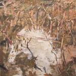 """Badja Road""  2003  archival oil on polyester canvas"