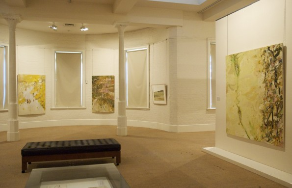 Installation view: John R Walker survey exhibition, Journey through Landscape at the S H Ervin Gallery, Sydney in 2008.