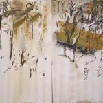 """Forest""  2003  gouache on archival paper  75 x 110cm."