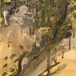 Larramie slope gouache on paper 1999