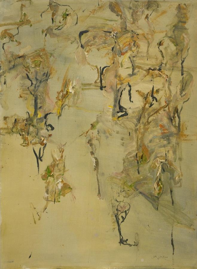 'Black Wattle' 2012 gouache on paper 56 x 76 cm