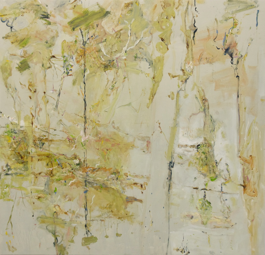 'Tantulean Creek Pond' 2011 archival oil on polyester 176 x 182 cm
