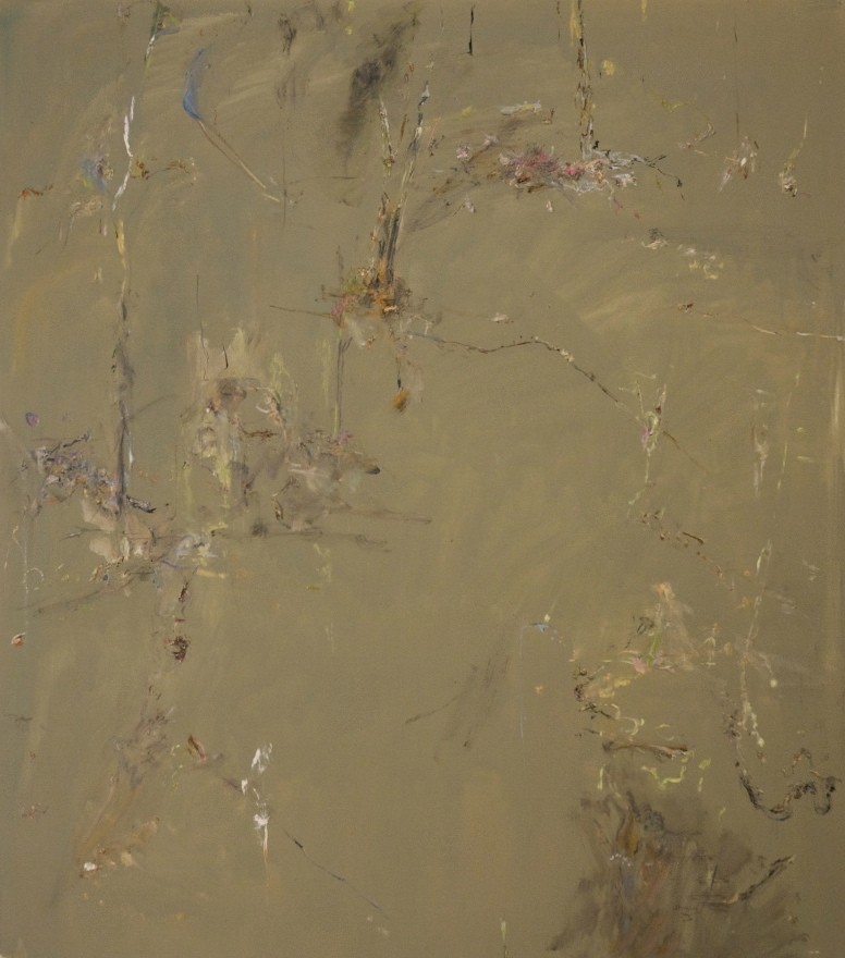 'Winter in the Fire Forest 3' 2012  archival oil on polyester 183 x 161 cm