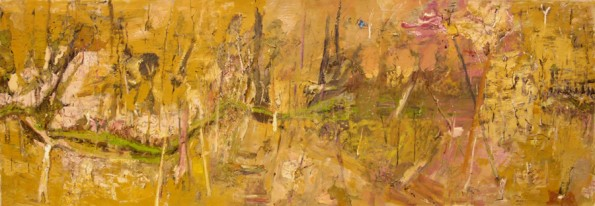 'Along Tantulean Creek'  2006  archival oil on polyester canvas