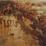 'Tallaganda Gully'  2005  archival oil on canvas  100 x 85 cm. Private collection.