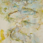 John R Walker, Chain of ponds 2012/13, archival oil on polyester canvas, 148 x 85cm.