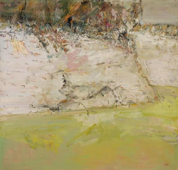 John R Walker, The Darling at Kalyanka 2013, archival oil on polyester canvas, 178 x 186cm.