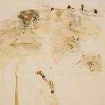John R Walker, Dawn 2013, archival oil on polyester canvas, 123 x 91cm.
