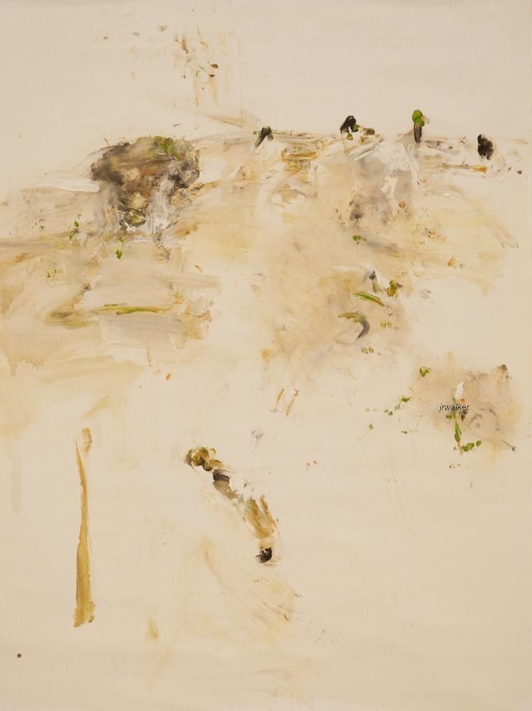 'Dawn' 2013  archival oil on polyester canvas, 123 x 91cm.