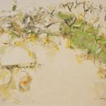 John R Walker, Doughboy Morning 2013/14, archival oil on polyester canvas, 142.5 x 177.5cm.