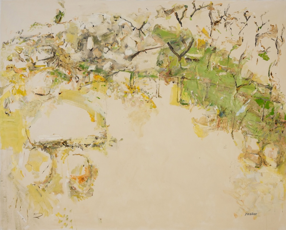 'Doughboy Morning' 2013/14 archival oil on polyester canvas, 142.5 x 177.5cm
