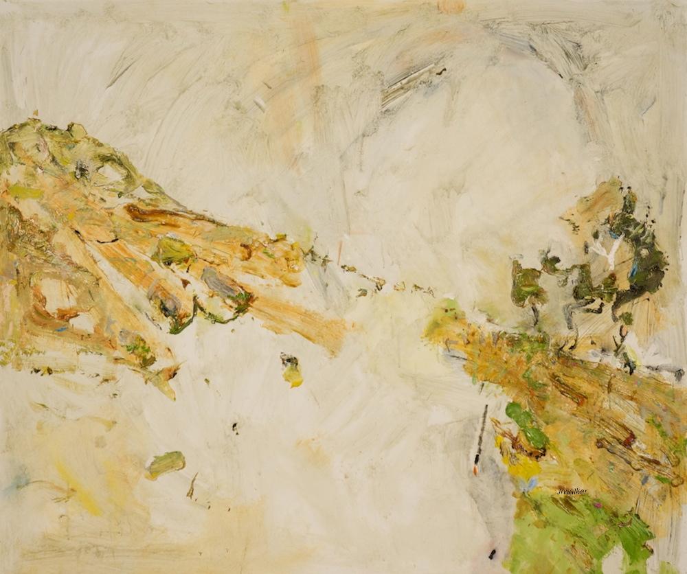 'Doughboy V' 2013 archival oil on polyester canvas, 106 x 127cm.